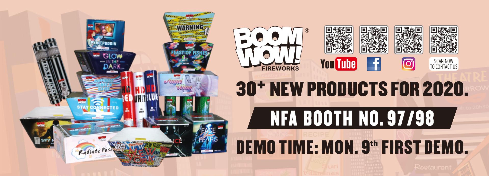boomwow fireworks