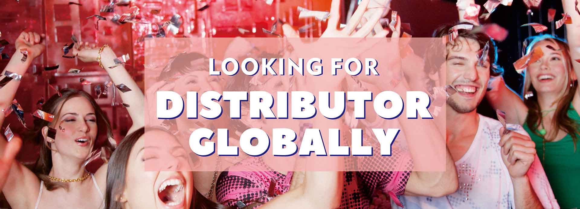 LOOKING FOR DISTRIBUTOR GLOBALLY