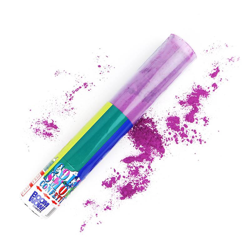 Boomwow Colorful PVC Tube Holi Powder Popper-Orange