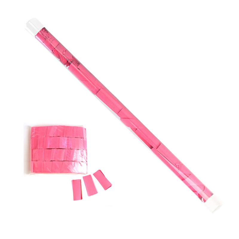 Boomwow Colorful Biodegradable Tissue Paper Confetti Flick-PVC Tube