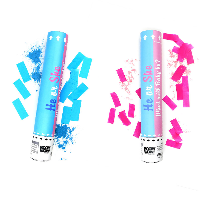 Gender Reveal Powder Confetti Cannon