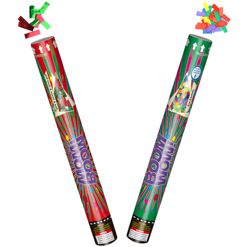 Christmas New Year Party Colorful Confetti Cannon