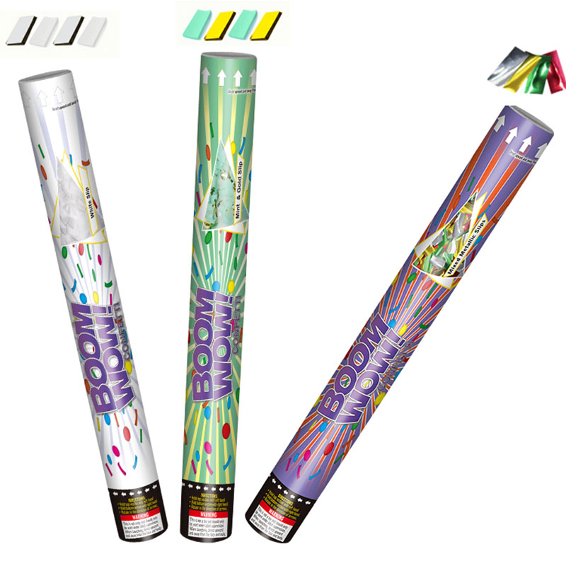 Colorful Paper Slips Confetti Poppers