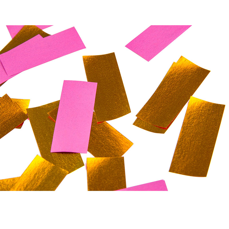 Shiny Gold+Pink Paper Slips