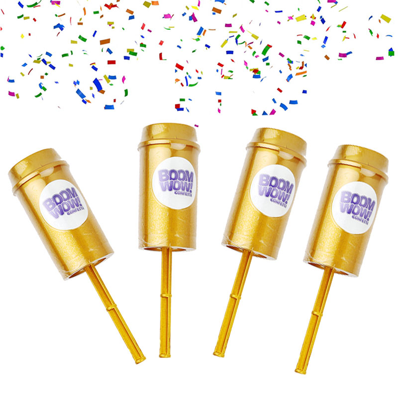 Push Pop Confetti Poppers