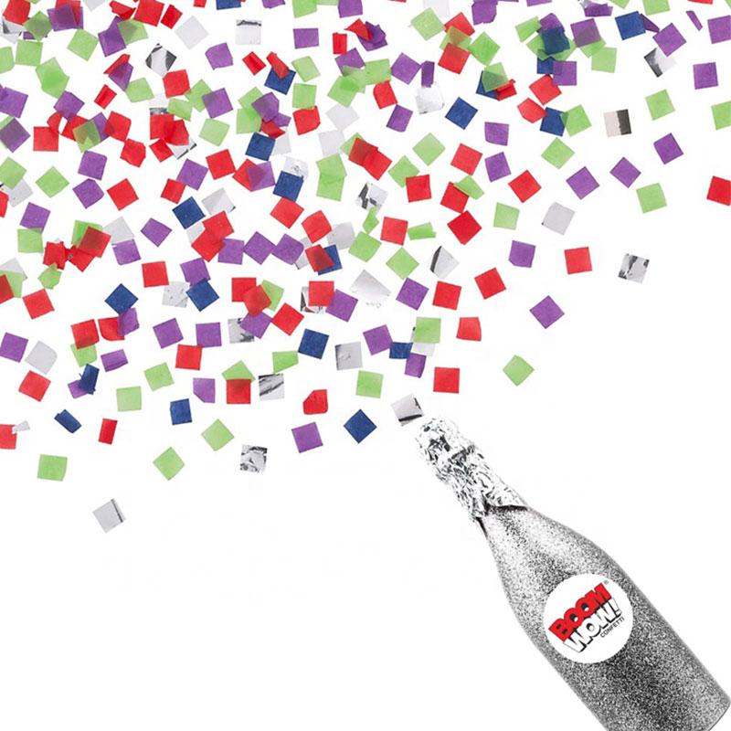 Boomwow New Design Champagne Bottle Confetti Cannon