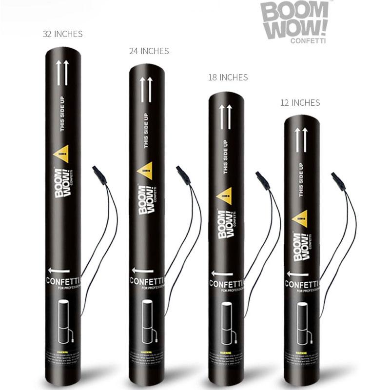 Metallic Streamers Electric Confetti Cannon