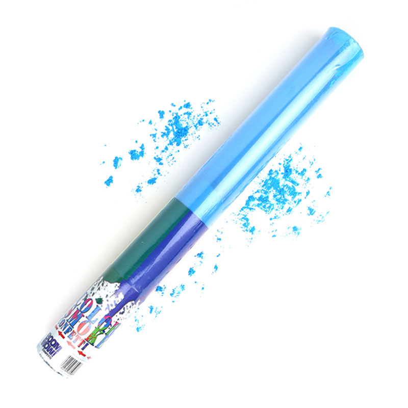 Boomwow Colorful PVC Tube Holi Powder Popper-Blue
