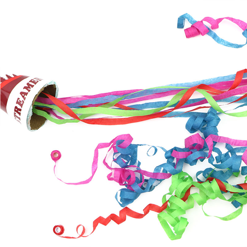 Boomwow New Design Cup Hand Throw Streamers for Christmas