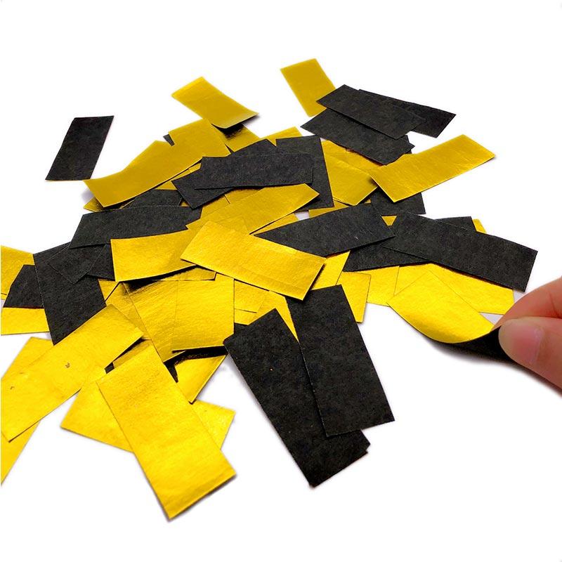Shiny Gold+Black Paper Slips