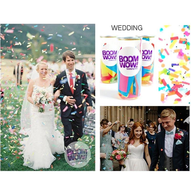 Pop Top Colorful Slips Confetti