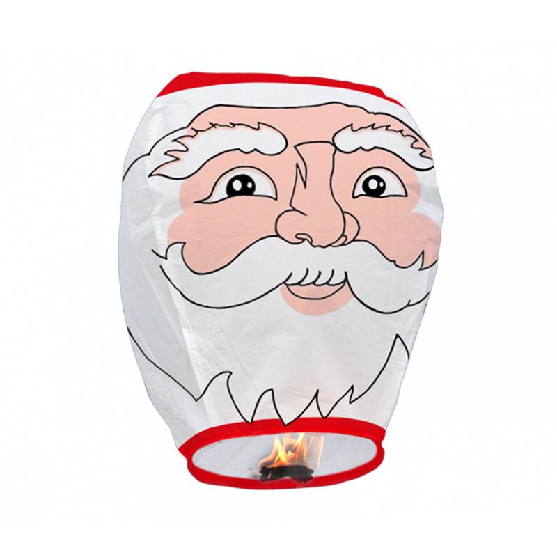 Boomwow 100% biodegradable flame retardant folded paper lantern flying sky lantern for Christmas