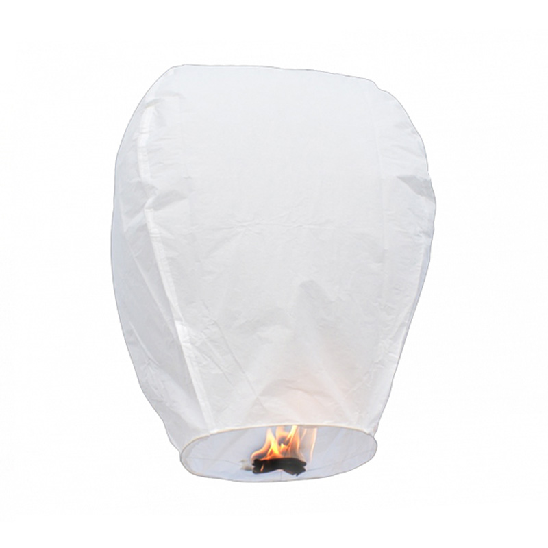 Boomwow Multicolor 100% biodegradable flame retardant folded paper lantern flying sky lantern