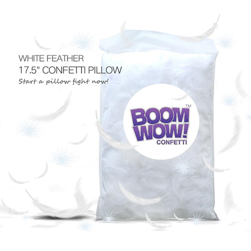 White Feather Pillow