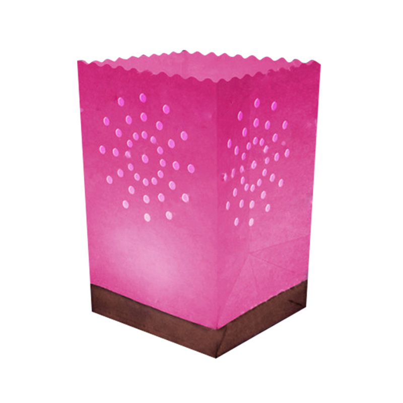 Pink Waterproof Candle Bag