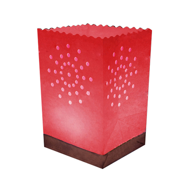 Red Waterproof Candle Bag