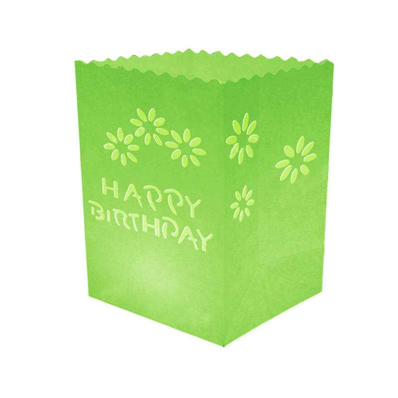 Happy Birthday Candle Bag