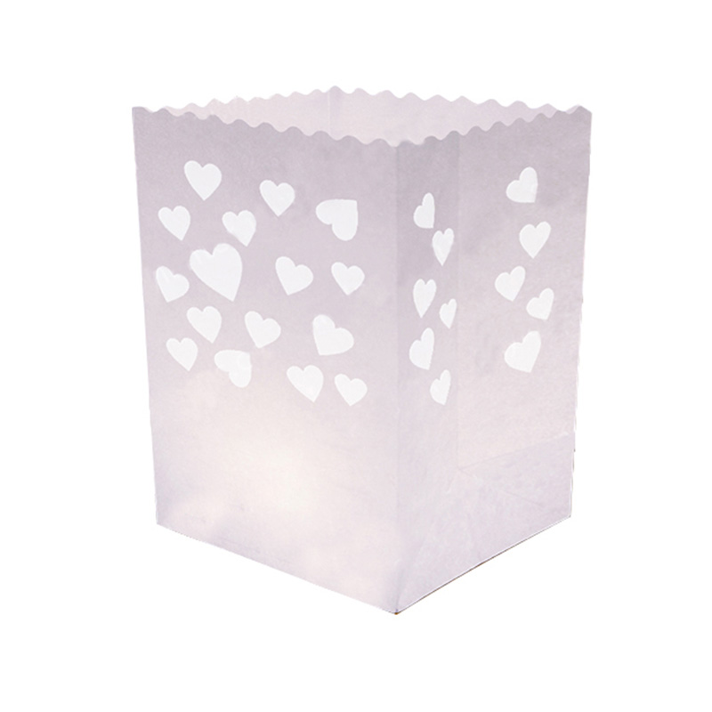 Heart Cluster Candle Bag