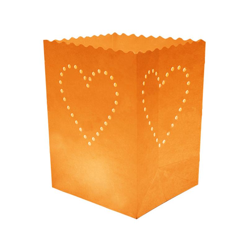 Heart Dot Candle Bag