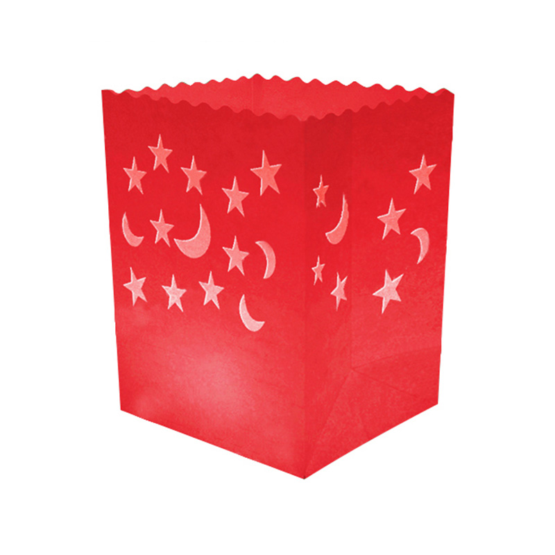 Star And Moon Candle Bag