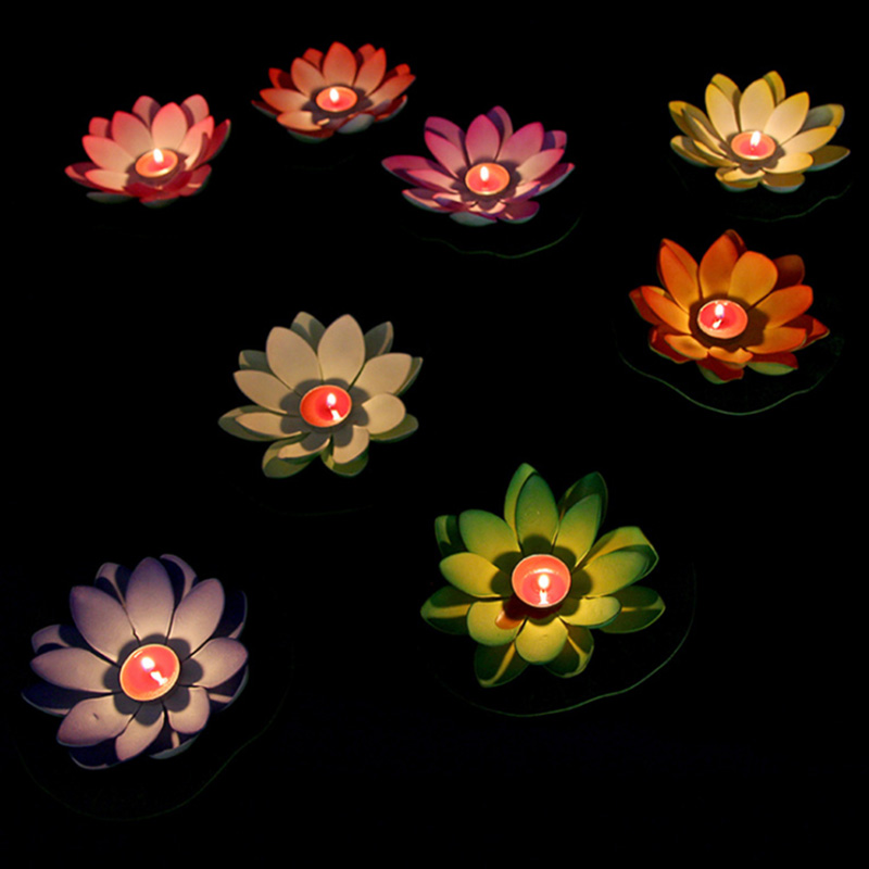 Candle Lotus Water Lantern