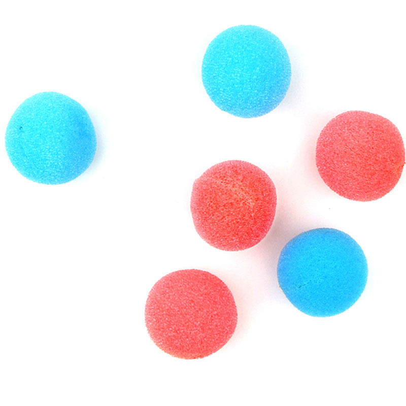 Boomwow blue pink sponge ball perfect for gender reveal party