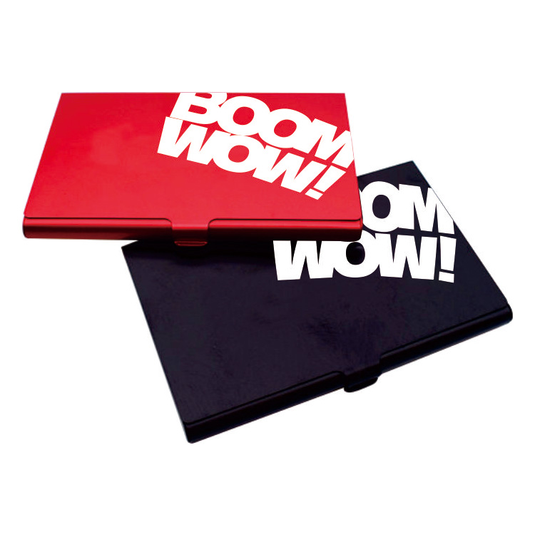 Boomwow Stainless Steel Professional Business Card Holder